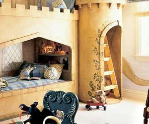 castle, bedroom, and kids image