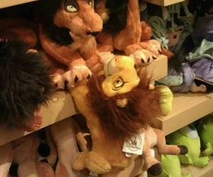 disney, scar, and lion king image
