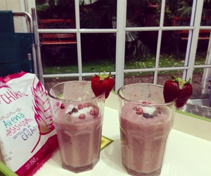 Cookies, smoothies, and morning image