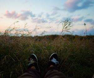 landscape, sky, and friends image