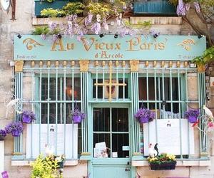 paris and shopfront image