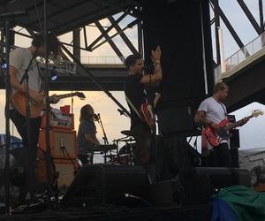 concert, rock band, and kaleo image