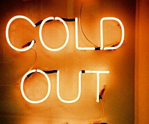 cold, light, and neon image