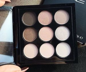 makeup, mac, and eyeshadow image