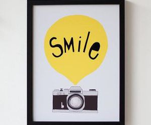smile and camera image