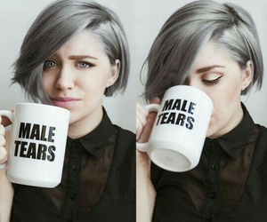 hair and male tears image