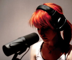 music, red hair, and paramore image