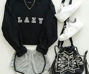 bag, Lazy, and shoes image