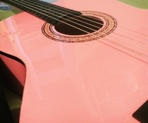 barbie, guitarra, and pink image