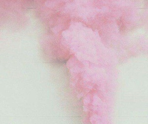 pink, smoke, and pastel image