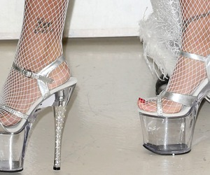 fashion and fishnets image