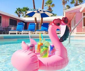 bikini, july, and pool image