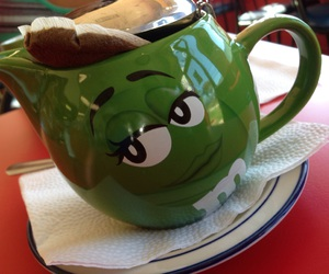 adorable, m&ms, and tea image