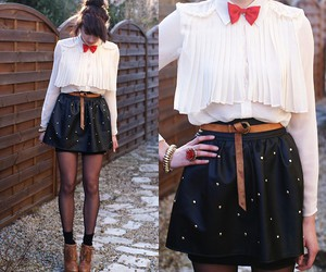 belt, bow, and lookbook image