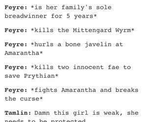 feyre, acotar, and a court of mist and fury image