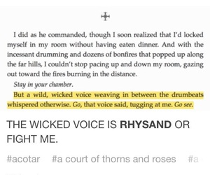 rhysand, acotar, and a court of mist and fury image