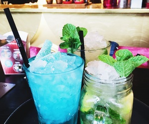 blue, lime, and mojito image