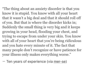 anxiety, disorder, and mental image