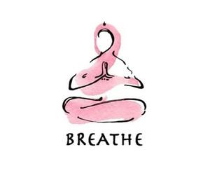 yoga, aesthetic, and breathe image