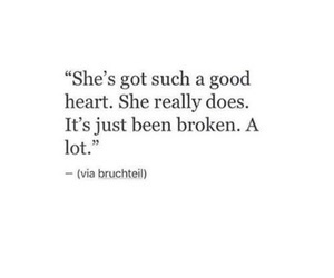 quotes, broken, and love image