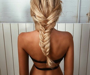 blonde, fashion, and hair image