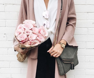 fashion, style, and flowers image