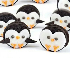 oreo, penguins, and Cookies image