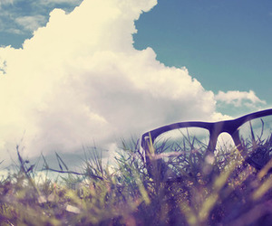 sky, sunglasses, and cute image