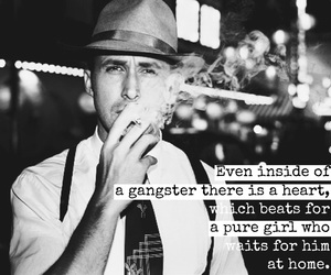 gangster, movie, and ryan gosling image