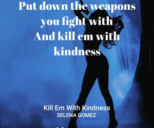 revival, selena gomez, and kill em with kindness image
