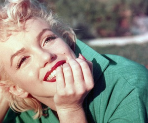 Marilyn Monroe, vintage, and smile image
