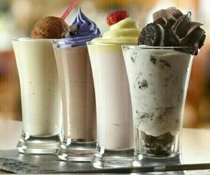 milkshake, delicious, and food image