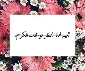 الله, flowers, and islam image
