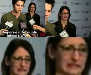 teen wolf, stalia, and funny image