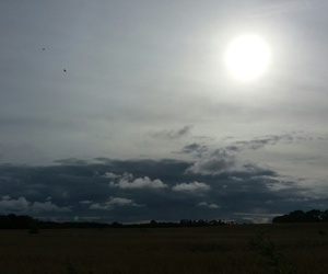 clouds, Sonne, and wolken image