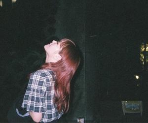 girl, night, and 夜 image