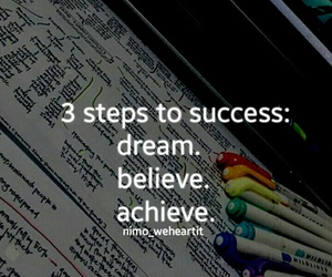 believe, Dream, and inspiration image