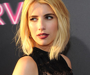 blonde and emma roberts image