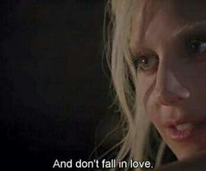 american horror story, love, and hotel image