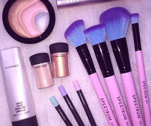 cosmetics, pink, and beautiful image