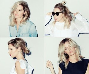 ashley tisdale and hair image