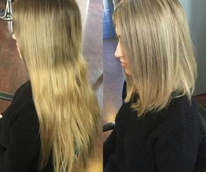 hair, haircut, and lenght image