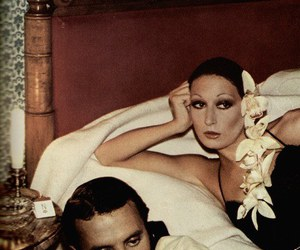 1973, Anjelica Huston, and fashion image