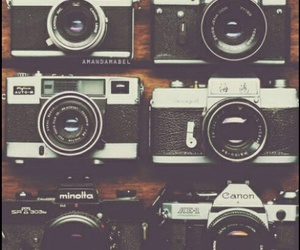 camera, old, and love image