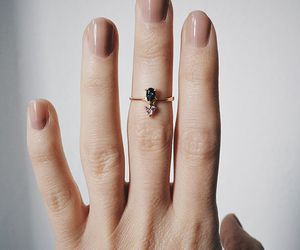 nails, ring, and accessories image