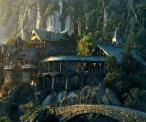 lord of the rings and rivendell image