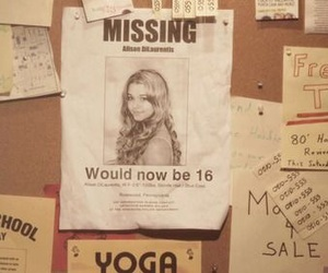 missing, poster, and pll image