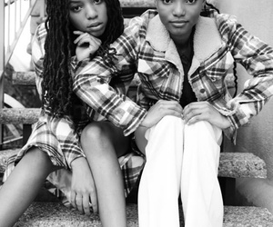 people and chloe&halle image