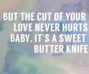 cut, grunge, and knife image