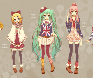 vocaloid, meiko, and gumi image